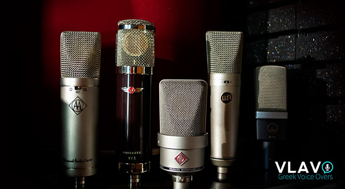 ALL MICS GREEK VOICE OVERS MID